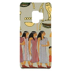 Egyptian Paper Women Child Owl Samsung S9 Black Uv Print Case