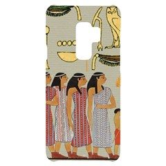 Egyptian Paper Women Child Owl Samsung S9 Plus Black Uv Print Case