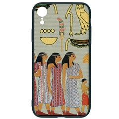 Egyptian Paper Women Child Owl Iphone Xr Soft Bumper Uv Case