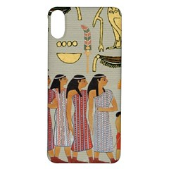 Egyptian Paper Women Child Owl Iphone X/xs Soft Bumper Uv Case