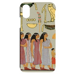 Egyptian Paper Women Child Owl Iphone X/xs Black Uv Print Case