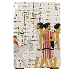 Egyptian Design Men Worker Slaves Apple Ipad Pro 10 5   Black Uv Print Case
