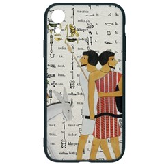 Egyptian Design Men Worker Slaves Iphone Xr Soft Bumper Uv Case