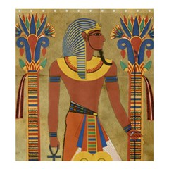 Egyptian Tutunkhamun Pharaoh Design Shower Curtain 66  X 72  (large)