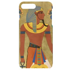 Egyptian Tutunkhamun Pharaoh Design Iphone 7/8 Plus Black Uv Print Case
