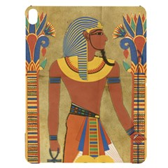 Egyptian Tutunkhamun Pharaoh Design Apple Ipad Pro 12 9   Black Uv Print Case
