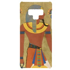 Egyptian Tutunkhamun Pharaoh Design Samsung Note 9 Black Uv Print Case