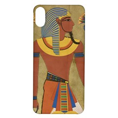 Egyptian Tutunkhamun Pharaoh Design Iphone X/xs Soft Bumper Uv Case