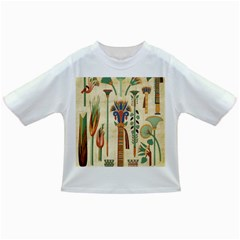Egyptian Paper Papyrus Hieroglyphs Infant/toddler T Shirts