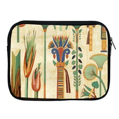Egyptian Paper Papyrus Hieroglyphs Apple Ipad 2/3/4 Zipper Cases by Sapixe