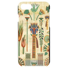 Egyptian Paper Papyrus Hieroglyphs Iphone 7/8 Black Uv Print Case
