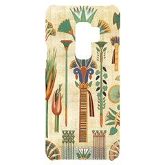 Egyptian Paper Papyrus Hieroglyphs Samsung S9 Plus Black Uv Print Case