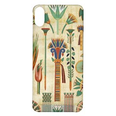 Egyptian Paper Papyrus Hieroglyphs Iphone X/xs Soft Bumper Uv Case