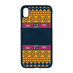Pattern Ornaments Africa Safari Iphone Xr Seamless Case (black)