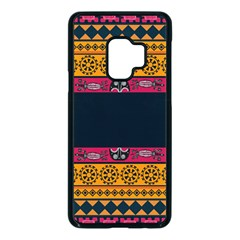Pattern Ornaments Africa Safari Samsung Galaxy S9 Seamless Case(black) by HermanTelo