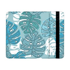 Pattern Leaves Banana Samsung Galaxy Tab Pro 8 4  Flip Case by HermanTelo