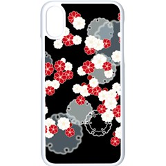 Plum Snow Ring Iphone X Seamless Case (white)