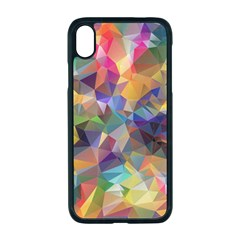 Polygon Wallpaper Iphone Xr Seamless Case (black)