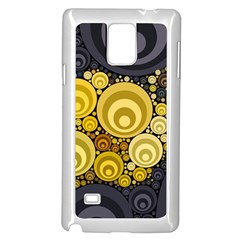 Retro Color Style Samsung Galaxy Note 4 Case (white) by HermanTelo