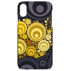 Retro Color Style Iphone Xr Black Uv Print Case