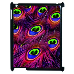 Peacock Feathers Color Plumage Apple Ipad 2 Case (black)