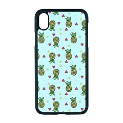 Pineapple Watermelon Fruit Lime Iphone Xr Seamless Case (black)