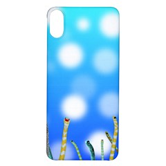 Sea Underwater Life Fish Iphone X/xs Soft Bumper Uv Case