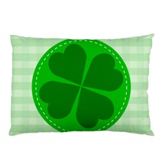 Shamrock Luck Day Pillow Case (two Sides)