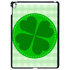 Shamrock Luck Day Apple Ipad Pro 9 7   Black Seamless Case