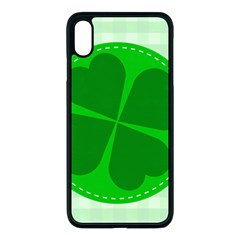 Shamrock Luck Day Iphone Xs Max Seamless Case (black)