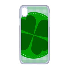 Shamrock Luck Day Iphone Xr Seamless Case (white)