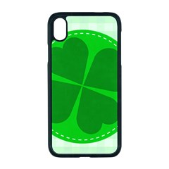 Shamrock Luck Day Iphone Xr Seamless Case (black)