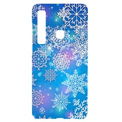 Snowflake Background Blue Purple Samsung Case Others by HermanTelo