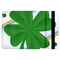 Shamrock Clover Saint Patrick Leaves Ipad Air Flip