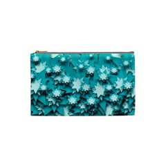 Stars Christmas Ice 3d Cosmetic Bag (small)