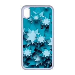 Stars Christmas Ice 3d Iphone Xr Seamless Case (white)