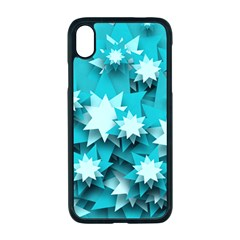 Stars Christmas Ice 3d Iphone Xr Seamless Case (black)
