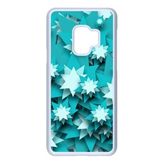 Stars Christmas Ice 3d Samsung Galaxy S9 Seamless Case(white)