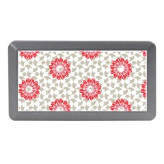 Stamping Pattern Red Memory Card Reader (mini)