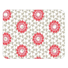 Stamping Pattern Red Double Sided Flano Blanket (large)  by HermanTelo