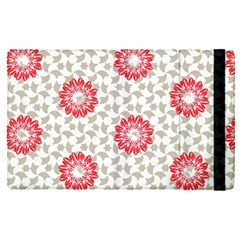 Stamping Pattern Red Apple Ipad Pro 9 7   Flip Case