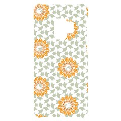 Stamping Pattern Yellow Samsung S9 Black Uv Print Case by HermanTelo