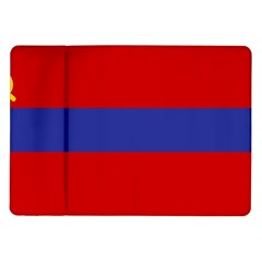Flag Of Armenian Socialist Republic, 1952-1990 Samsung Galaxy Tab 10 1  P7500 Flip Case by abbeyz71