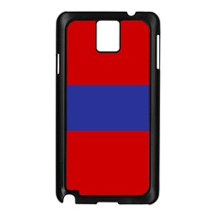 Flag Of Armenian Socialist Republic, 1952-1990 Samsung Galaxy Note 3 N9005 Case (black) by abbeyz71