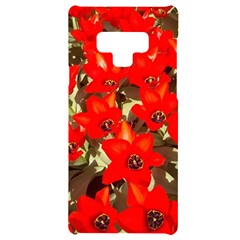 Columbus Commons Red Tulips Samsung Note 9 Black Uv Print Case