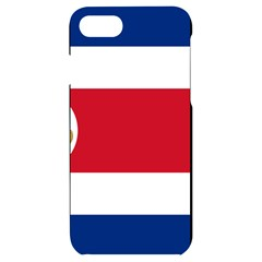 National Flag Of Costa Rica Iphone 7/8 Black Uv Print Case