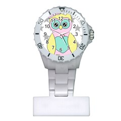 Sowa Child Owls Animals Plastic Nurses Watch