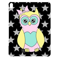 Sowa Child Owls Animals Apple Ipad Pro 12 9   Black Uv Print Case