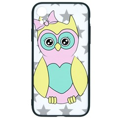 Sowa Child Owls Animals Iphone Xr Soft Bumper Uv Case