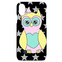 Sowa Child Owls Animals Iphone X/xs Black Uv Print Case